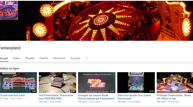 Retrouvez toutes les vidéos Fantaisyland sur Youtube