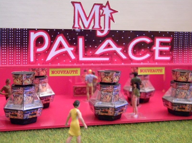 Stand miniature MJ Palace