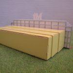 Stand miniature MJ Palace - vue arrière