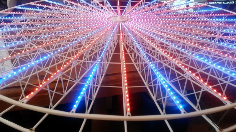 Illumination grande roue