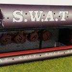 Stand de tir SWAT, vue devant