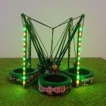 maquette H0 Trampoline Jumper Fantaisyland illuminé