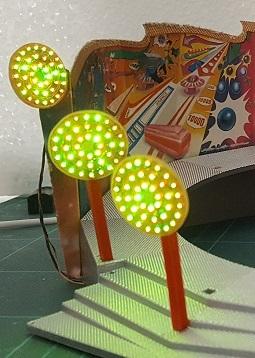 panneau flipper RGB