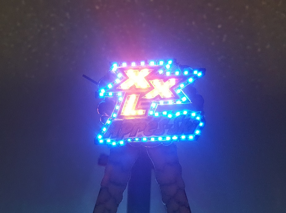 XXL enseigne illuminée