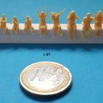 figurine assis 1/87