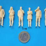 figurine mange 1/43
