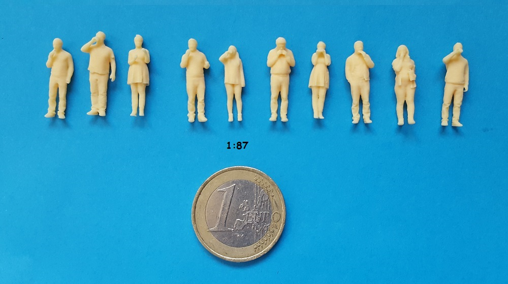 figurine mange 1/87