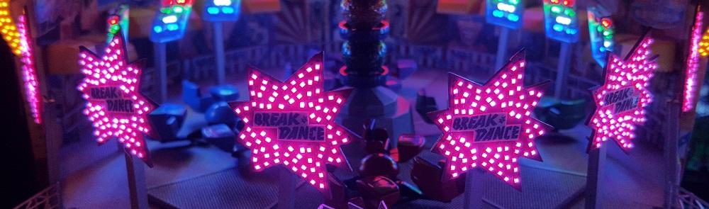 Panneaux illuminés Break dance n1