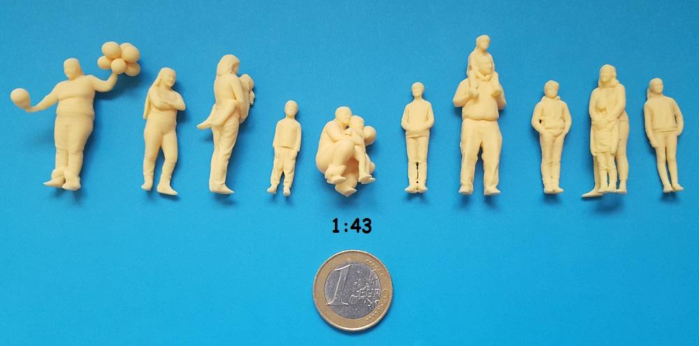 figurines enfant 1/43