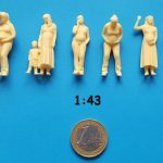 figurine enceinte 1/43ème
