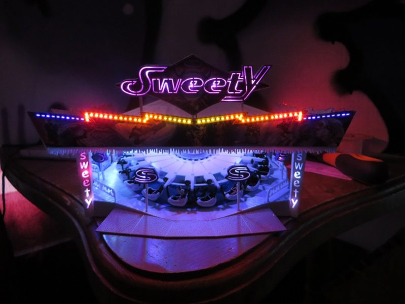 Illumination maquette sweety Fantaisyland