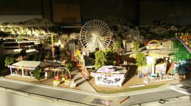 Fête foraine Fantaisyland ouverte à Mini World Lyon