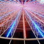 Illumination grande roue