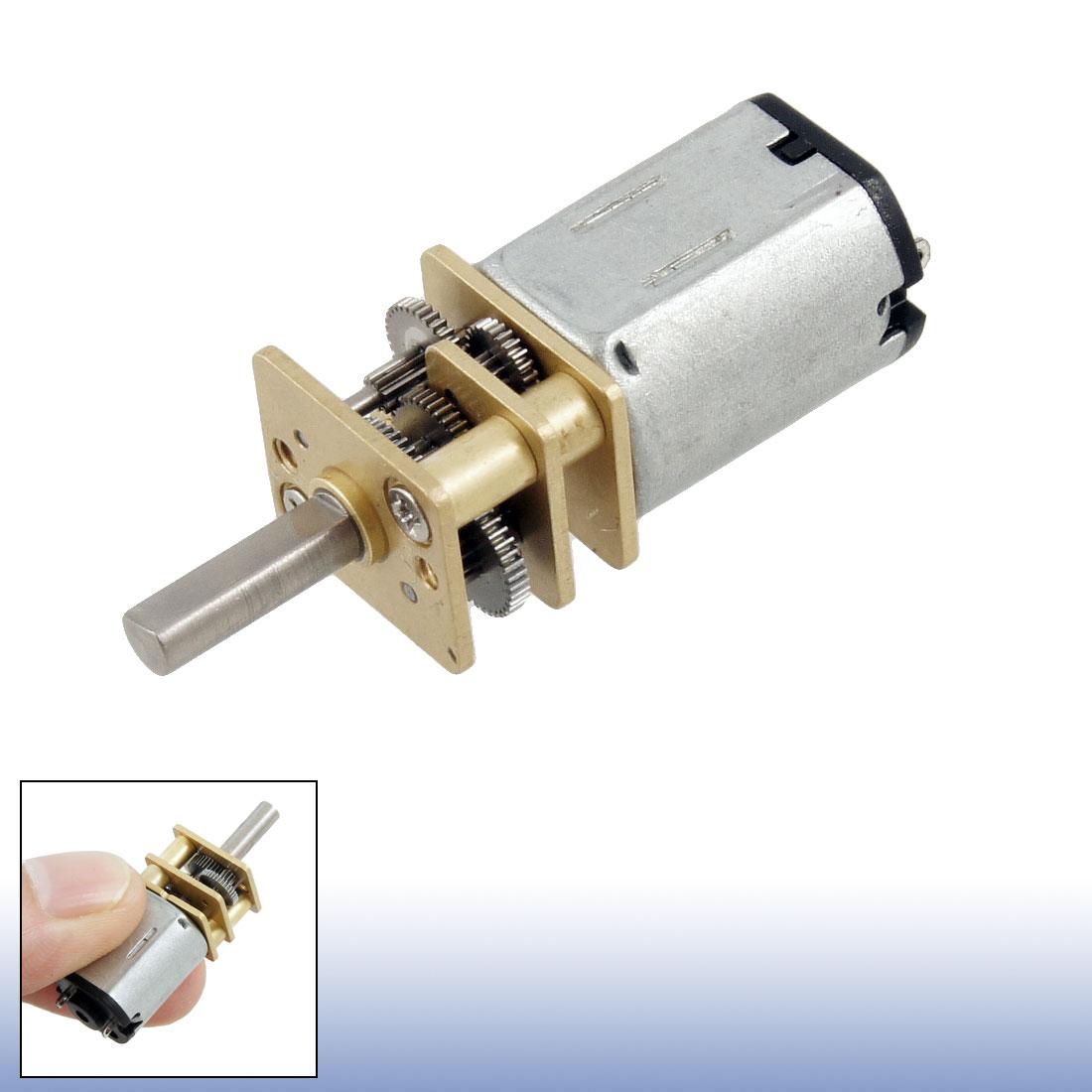 motoreducteur 30rpm 6v