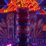 façade illuminée Break dance n1
