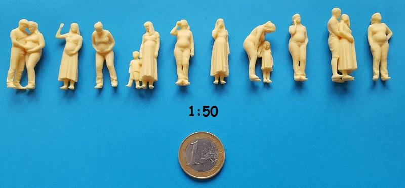 figurine enceinte 1/50ème